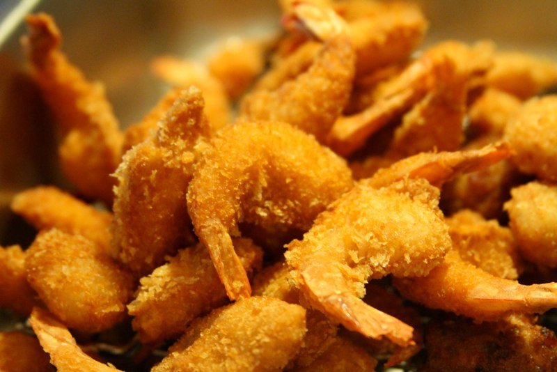 Fried Baby Shrimp