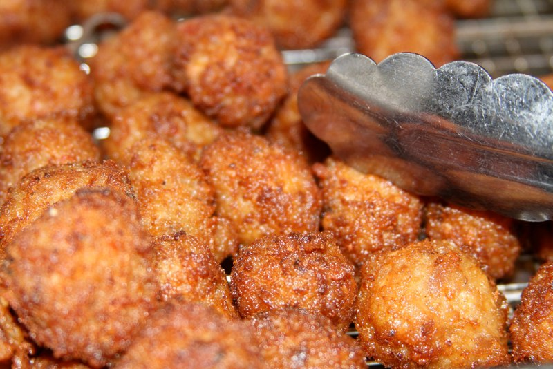 Fried Shrimp Balls